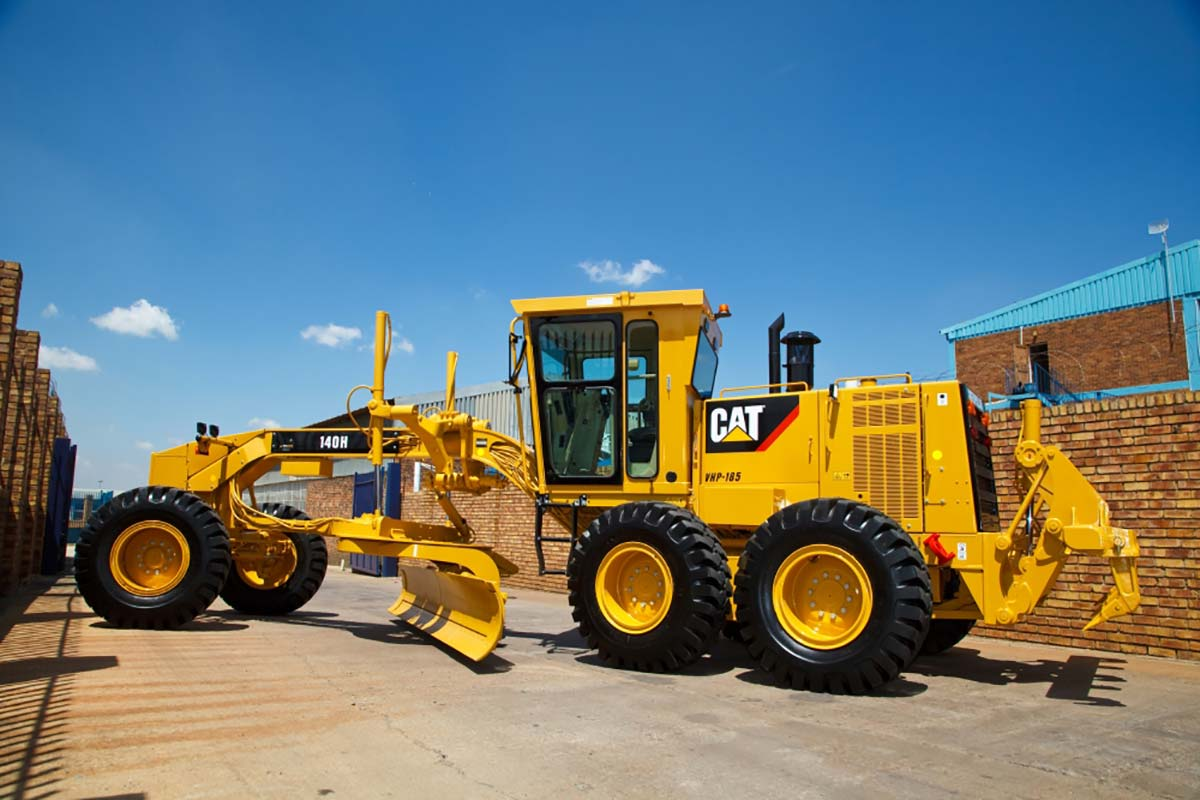 caterpillar 140H grader south africa