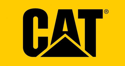 The Caterpillar 'CAT' logo.