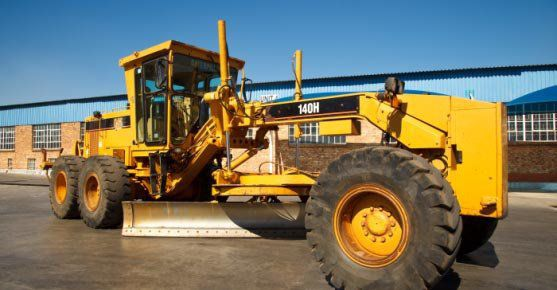 Caterpillar 140H prior to rebuild by KH Plant in South Africa