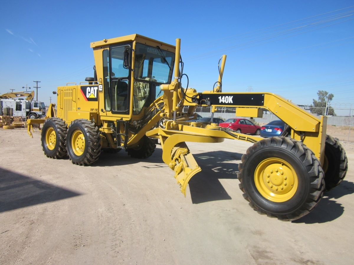 Caterpillar 140K Motor Grader Specifications