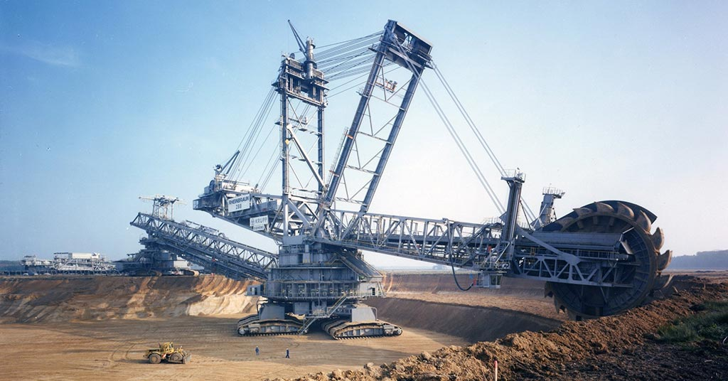 Bagger 293 Bucket-Wheel Excavator