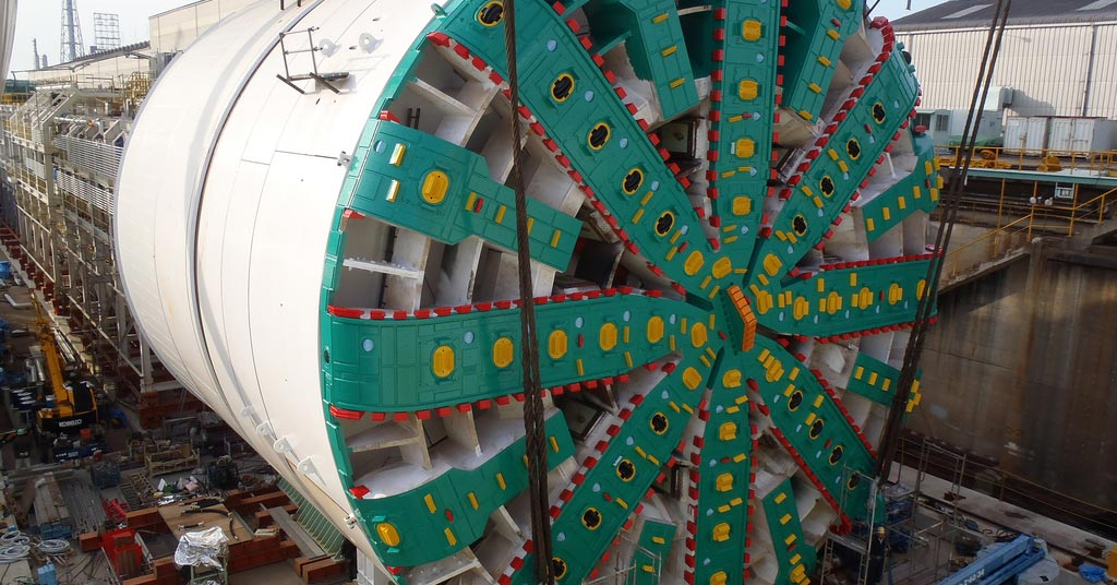 Hitachi Zosen Tunnel Boring Machine