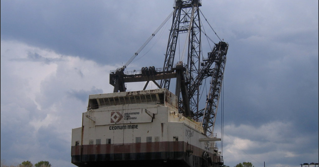 Bucyrus-Erie 257 OW Walking Dragline