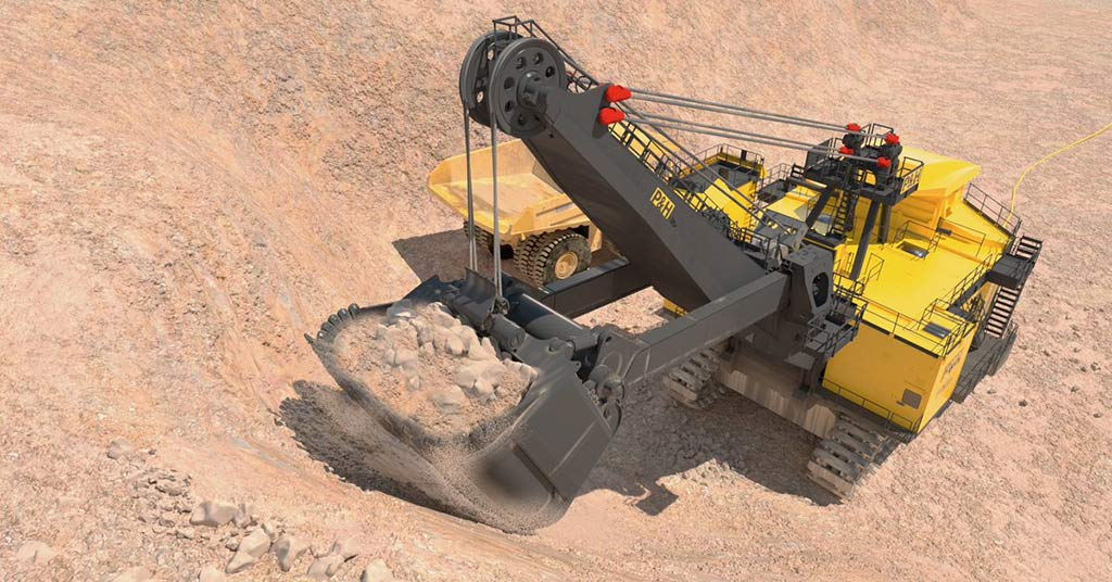Komatsu P&H 4800 XPC Electric Rope Shovel