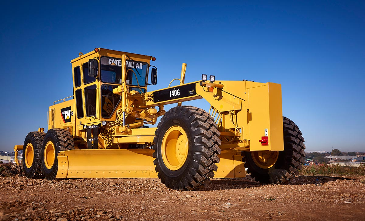 sell your used CAT motor grader